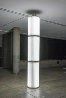 "Cerith Wyn Evans's ""Untitled (Column) 17''"